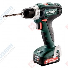Фото Metabo PowerMaxx BS12 2х2,0Ач 601036500